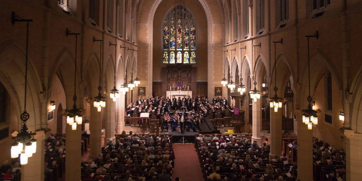 Oratorio Society of Minnesota perfomance
